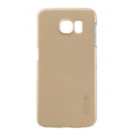 Θήκη Faceplate Nillkin για Samsung SM-G920F Galaxy S6 Χρυσαφί με Screen Protector