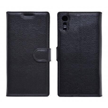 Θήκη Book Ancus Teneo για Sony Xperia XZ/XZ Dual TPU Μαύρη