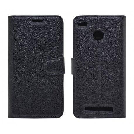 Θήκη Book Ancus Teneo για Xiaomi Redmi 3S TPU Μαύρη