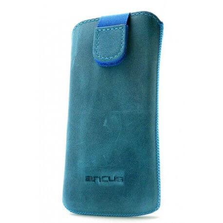 Θήκη Protect Ancus για Apple iPhone 5/5S/5C Δέρμα Μπλέ