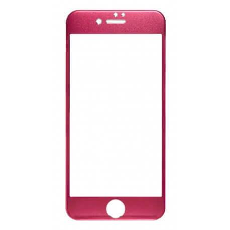 Screen Protector Ancus Full Face Titanium Tempered Glass 0.3 mm 9H για Apple iPhone 7 Κόκκινο