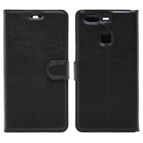 Θήκη Book Ancus Teneo για Huawei P9 Plus / P9 Plus Dual TPU Μαύρη