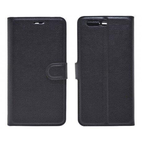 Θήκη Book Ancus Teneo για Huawei P10 Plus TPU Μαύρη