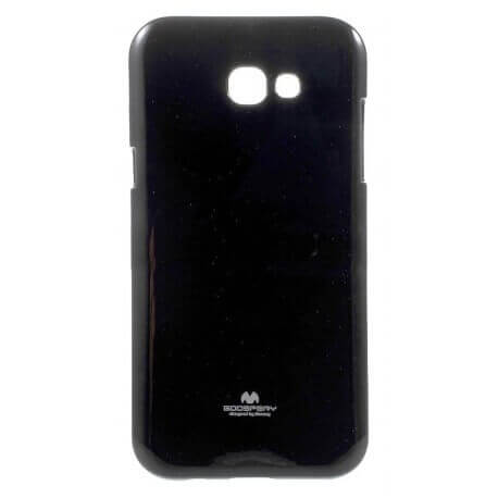 Θήκη Jelly Goospery για Samsung SM-A320 Galaxy A3 (2017) Μαύρη by Mercury