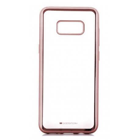 Θήκη Goospery Electroplating για Samsung SM-G955F Galaxy S8+ Χρυσαφί Ρόζ by Mercury