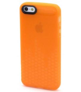 Θήκη Σιλικόνης Ancus για Apple iPhone 5/5S Glow Πορτοκαλί