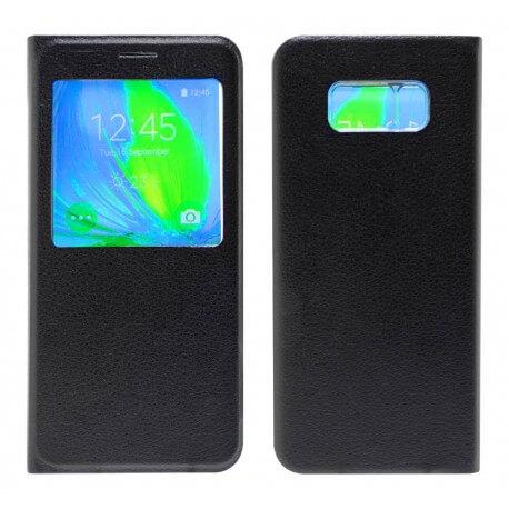 Θήκη Book S-View Ancus για Samsung SM-G955F Galaxy S8+ Μαύρη