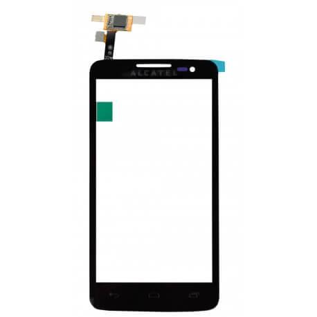 Μηχανισμός Αφής Alcatel One Touch X'Pop OT-5035D Μαύρο με Κόλλα Original