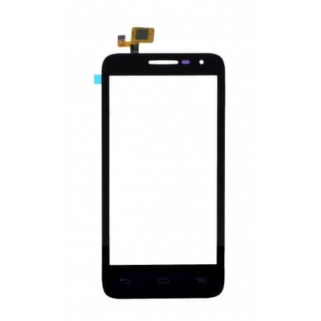 Μηχανισμός Αφής Alcatel One Touch Pop D5 OT-5038D Μαύρο με Κόλλα OEM