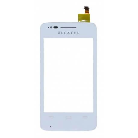 Μηχανισμός Αφής Alcatel One Touch T'Pop OT-4010D Λευκό Original χωρίς Κόλλα