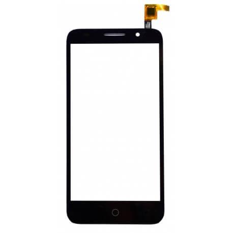 Μηχανισμός Αφής Alcatel One Touch Pixi 3 (5) 4G ΟΤ-5065X χωρίς Κόλλα Μαύρο Original