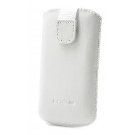 Θήκη Protect Ancus για Nokia Lumia 610 Δέρμα Λευκή