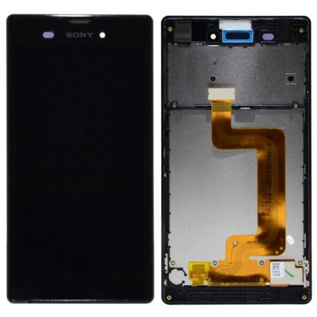 Γνήσια Οθόνη & Μηχανισμός Αφής Sony Xperia T3 D5103 Μαύρο F/191GUL0005A