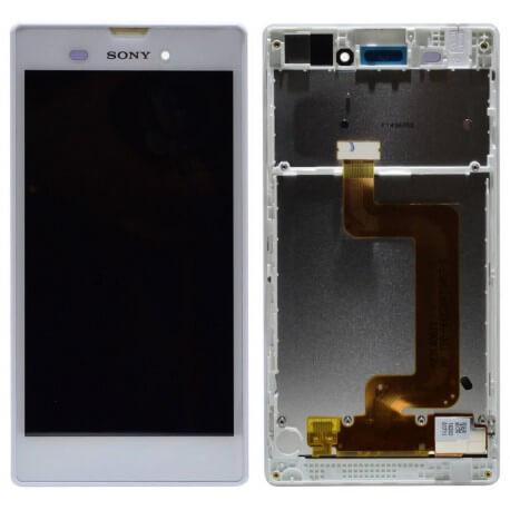 Γνήσια Οθόνη & Μηχανισμός Αφής Sony Xperia T3 D5103 Λευκή F/191GUL0006A