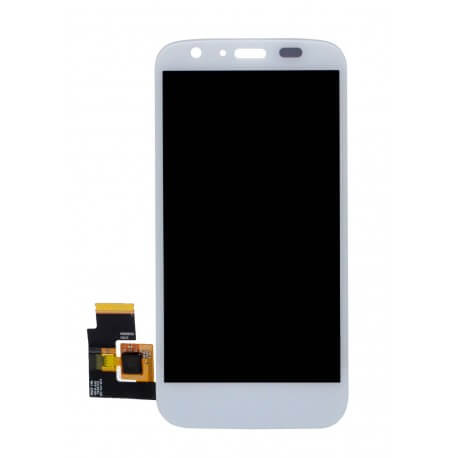 Γνήσια Οθόνη & Μηχανισμός Αφής Motorola Moto G X1032 χωρίς Κόλλα Λευκό
