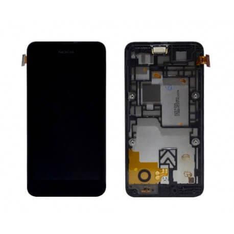 Γνήσια Οθόνη & Μηχανισμός Αφής Nokia Lumia 530 Μαύρη