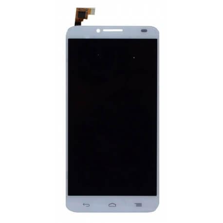 Γνήσια Οθόνη & Μηχανισμός Αφής Alcatel One Touch Idol 2 OT-6037K Λευκό Original χωρίς Κόλλα
