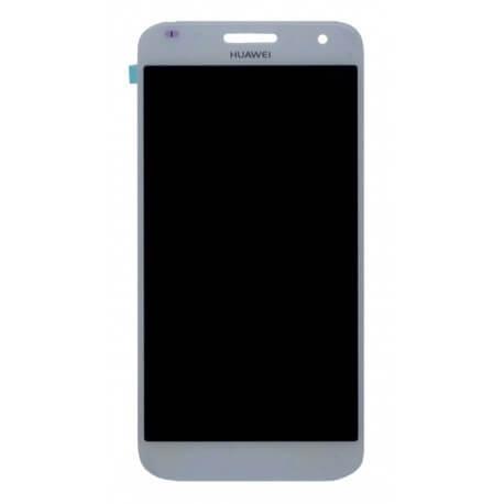 Γνήσια Οθόνη & Μηχανισμός Αφής Huawei Ascend G7 Λευκό χωρίς Πλαίσιο