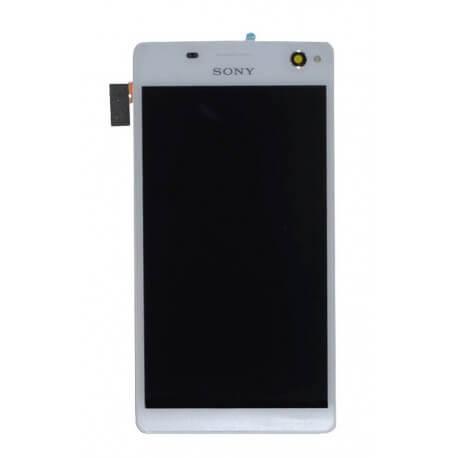 Γνήσια Οθόνη & Μηχανισμός Αφής Sony Xperia C4 E5303/E5306/E5353 Λευκό A/8CS-59160-0002
