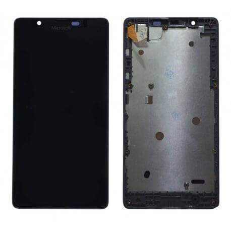 Γνήσια Οθόνη & Μηχανισμός Αφής Microsoft Lumia 540 Dual Sim με Πλαίσιο