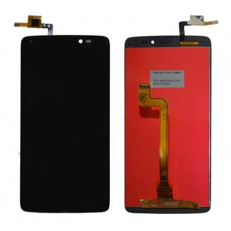 Γνήσια Οθόνη & Μηχανισμός Αφής Alcatel One Touch Idol 3 OT-6045Y Μαύρο Original χωρίς Κόλλα