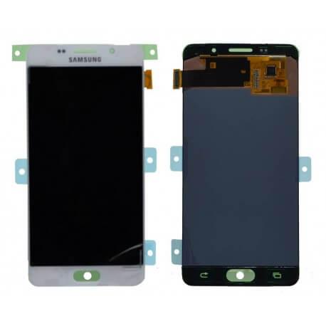 Γνήσια Οθόνη & Μηχανισμός Αφής Samsung SM-A510F Galaxy A5 (2016) Λευκό GH97-18250A