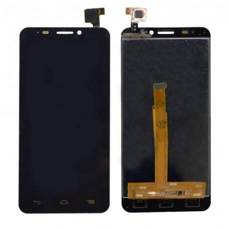Γνήσια Οθόνη & Μηχανισμός Αφής Alcatel One Touch Idol S OT-6034 Μαύρο