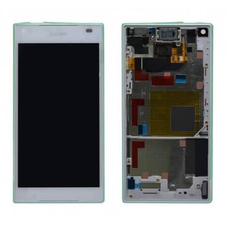 Γνήσια Οθόνη & Μηχανισμός Αφής Sony Xperia Z5 Compact E5803/ E5823 Λευκό 1297-3732