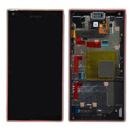 Γνήσια Οθόνη & Μηχανισμός Αφής Sony Xperia Z5 Compact E5803/ E5823 Κοραλί 1297-3734