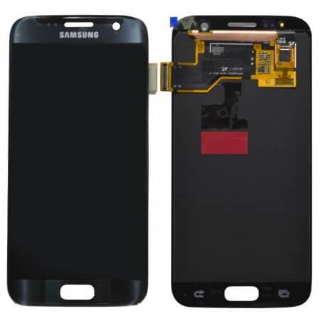 Γνήσια Οθόνη & Μηχανισμός Αφής Samsung SM-G930F Galaxy S7 χωρίς Κόλλα Μαύρο GH97-18523A
