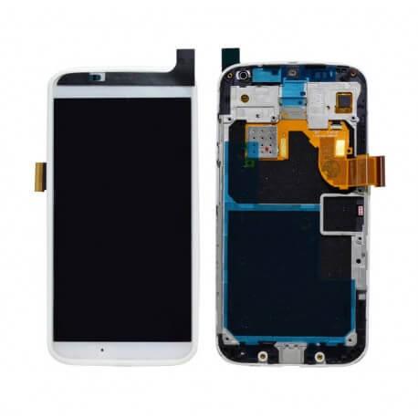 Γνήσια Οθόνη & Μηχανισμός Αφής Motorola Moto X (XT1052) Λευκή με Πλαίσιο, χωρίς Κόλλα Original