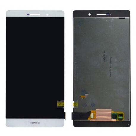 Γνήσια Οθόνη & Μηχανισμός Αφής Huawei Ascend P8 Max Λευκή χωρίς Πλαίσιο