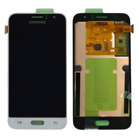 Γνήσια Οθόνη & Μηχανισμός Αφής Samsung SM-J120F Galaxy J1 (2016) Λευκό GH97-18224A