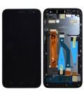 Γνήσια Οθόνη & Μηχανισμός Αφής Hisense L675 Μαύρο με Πλαίσιο και Ακουστικό 1025411