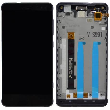 Γνήσια Οθόνη & Μηχανισμός Αφής Hisense C20 Μαύρο με Πλαίσιο και Ακουστικό 1017674