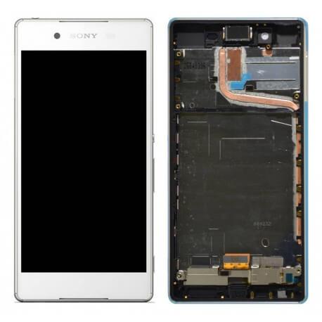 Γνήσια Οθόνη & Μηχανισμός Αφής Sony Xperia Z3+/ Z3 Plus/ Z4 E6553 Λευκό 1293-1497