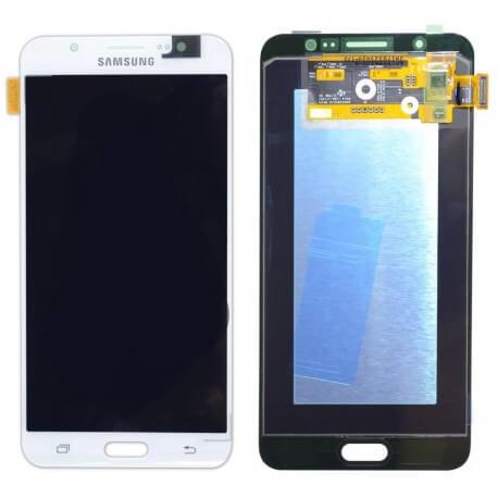 Γνήσια Οθόνη & Μηχανισμός Αφής Samsung SM-J710 Galaxy J7 (2016) Λευκό GH97-18855C