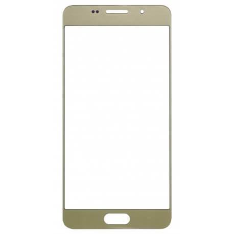 Τζάμι για Μηχανισμό Αφής Samsung SM-A310F Galaxy A3 (2016) Χρυσαφί OEM Type A