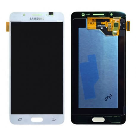 Γνήσια Οθόνη & Μηχανισμός Αφής Samsung SM-J510FN Galaxy J5 (2016) Λευκό GH97-18792C