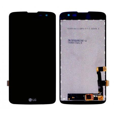 Γνήσια Οθόνη & Μηχανισμός Αφής LG K7 X210 Μαύρο EAT63353901