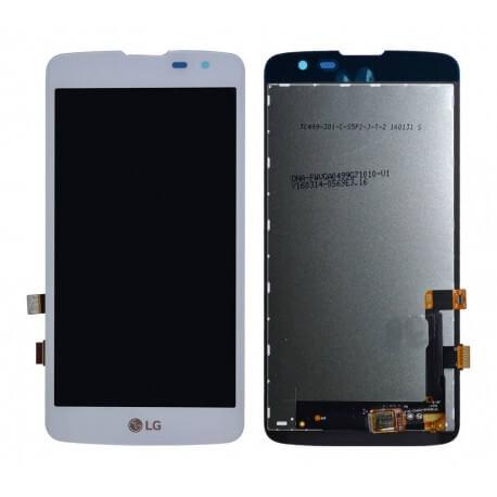 Γνήσια Οθόνη & Μηχανισμός Αφής LG K7 X210 Λευκό EAT63399901