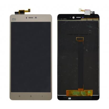 Γνήσια Οθόνη & Μηχανισμός Αφής Xiaomi Mi 4S Χρυσαφί χωρίς Πλαίσιο