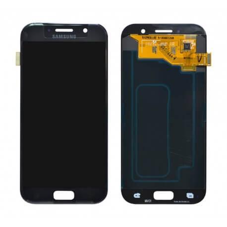 Γνήσια Οθόνη & Μηχανισμός Αφής Samsung SM-A520F Galaxy A5 (2017) Μαύρο GH97-19733A