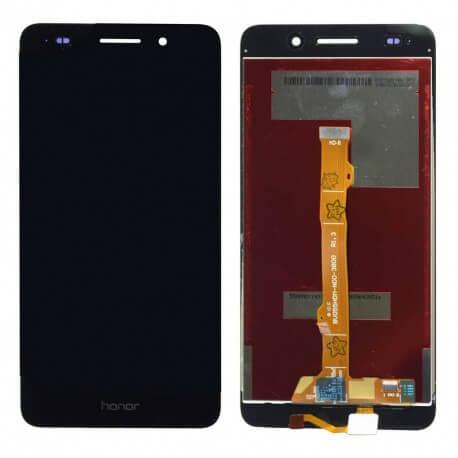 Οθόνη & Μηχανισμός Αφής Huawei Y6 II Μαύρο χωρίς Πλαίσιο, Κόλλα