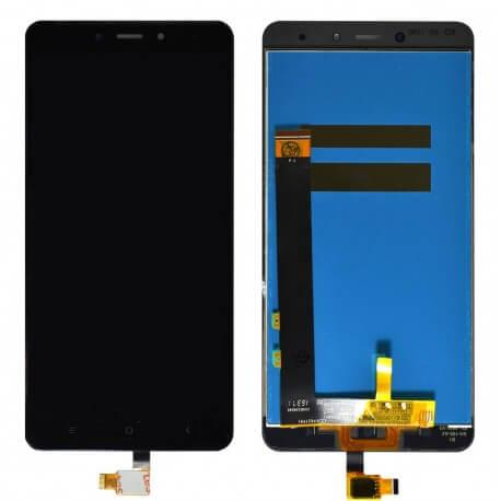 Οθόνη & Μηχανισμός Αφής Xiaomi Redmi Note 4 (Mediatek) Μαύρο (Διάσταση:148mm)