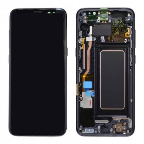 Γνήσια Οθόνη & Μηχανισμός Αφής Samsung SM-G950F Galaxy S8 Μαύρο GH97-20457A