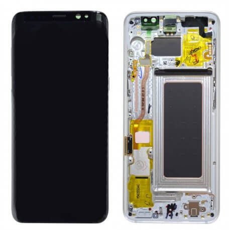 Γνήσια Οθόνη & Μηχανισμός Αφής Samsung SM-G950F Galaxy S8 Ασημί GH97-20457B