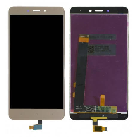 Οθόνη & Μηχανισμός Αφής Xiaomi Redmi Note 4 (Mediatek) Χρυσαφί (Διάσταση:148mm)