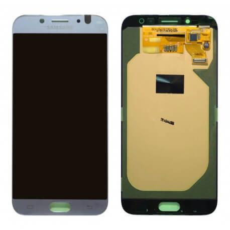 Γνήσια Οθόνη & Μηχανισμός Αφής Samsung SM-J730F Galaxy J7 (2017) Ασημί GH97-20736B
