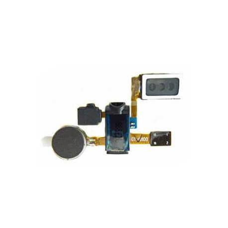 Ακουστικό Samsung i9100 Galaxy S II με Καλώδιο Πλακέ, Επαφή Ακουστικών, Δόνηση και Μικρόφωνο Ανοιχτής Ακρόασης Original Swap